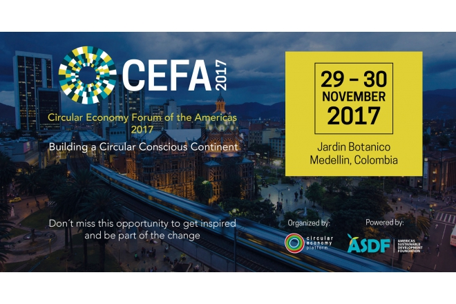 Come and participate in the First Circular Economy Forum of the Americas - CEFA2017!
