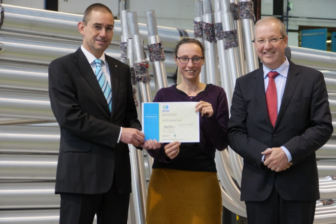 Sapa Pole Products receives Silver certificate according version 3.0