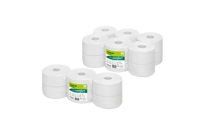 WEPA Toilet Paper, 100% recycling, 2-3ply Tissue