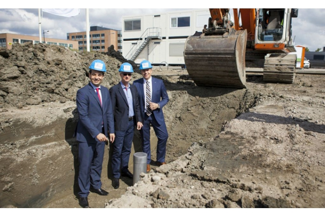 Groundbreaking new Plantronics Headquarters