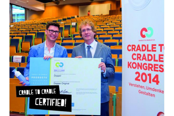 Dopper receives Cradle to Cradle bronze certificate