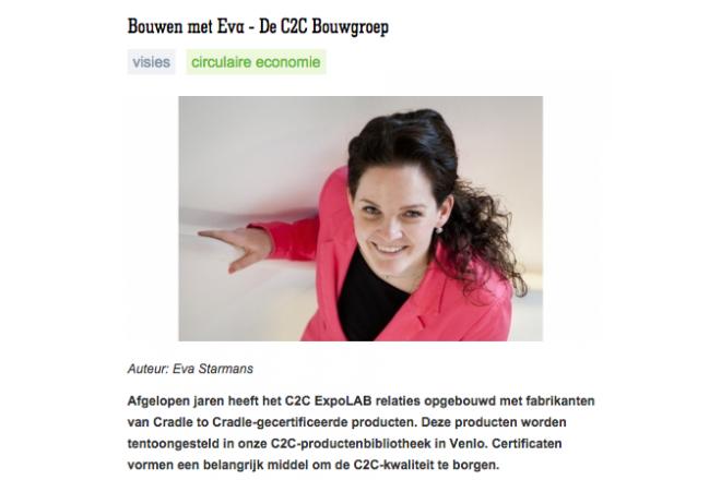 Duurzaam Gebouwd about C2C Bouwgroep