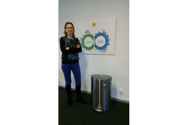We congratulate Ingeborg Gort-Duurkoop with the Brabantia flatbin!
