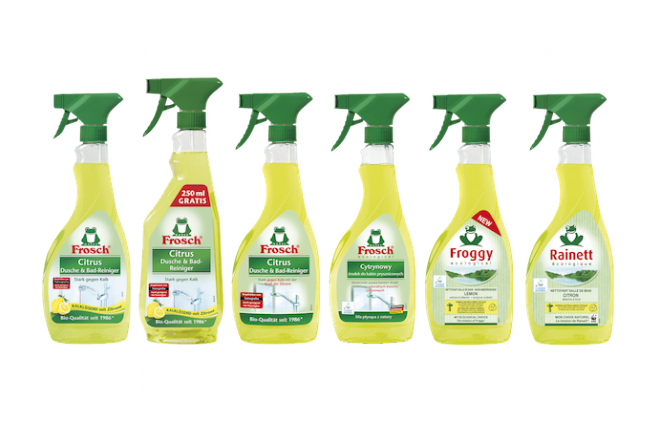 Frosch, first cleaning product with the Cradle to Cradle® Certified Gold Certificate