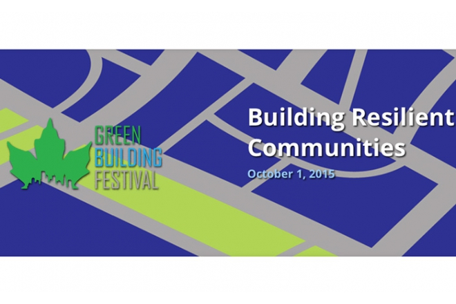 Coert Zachariasse speaks at Green Building Festival Canada
