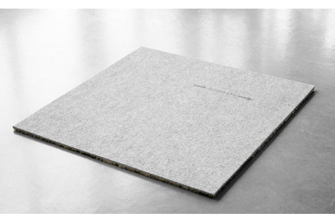 Carpet tile backing of Egetaepper A/S C2C Certified silver