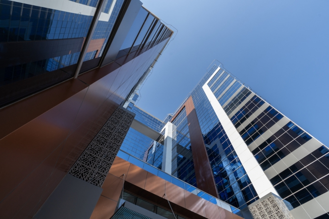 Magnetron Coated Architectural Glass