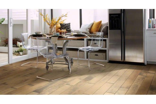Engineered HDF-Core Hardwood Flooring