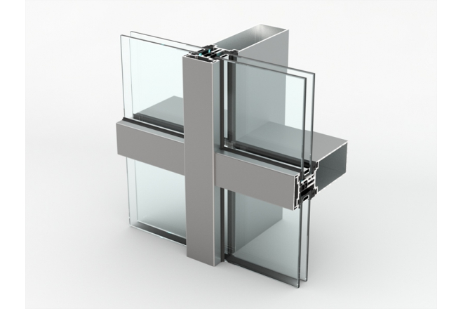 AA 100 Q Aluminium Curtain Wall