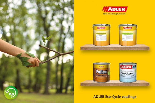 ADLER Eco-Cycle coatings
