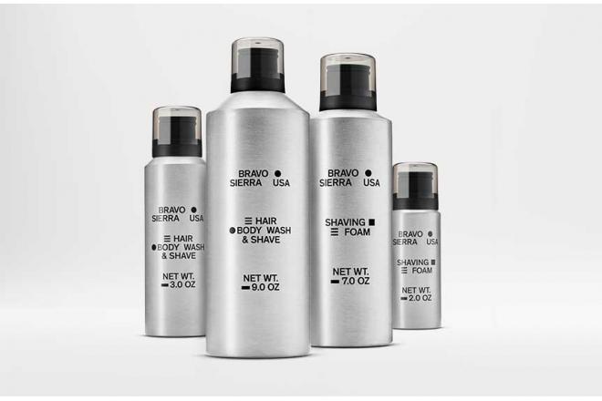 BRAVO SIERRA Aluminum Cans