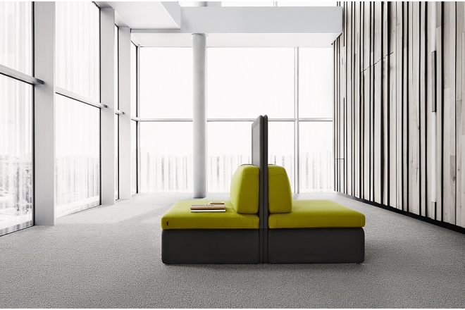 DESSO® PA6 Solution Dyed Carpet Tiles Gold