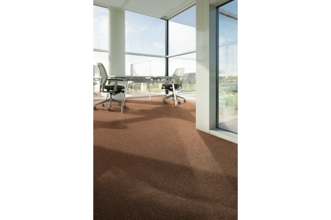 Ecobase™ PA 6.6 Continuous Dyed Carpet Tiles