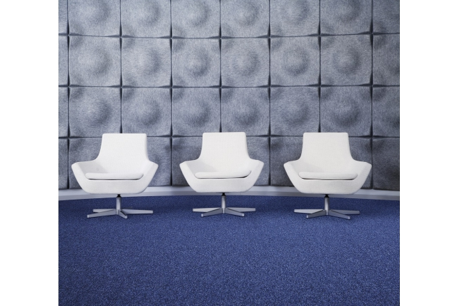 Ecobase™ PA 6 Continuous Dyed Carpet Tiles