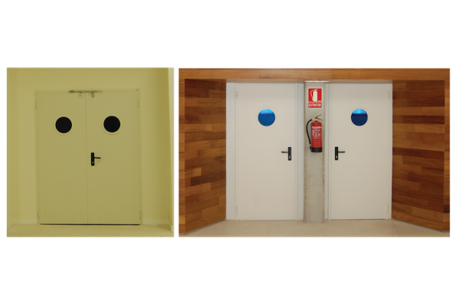Fire Proof Doors (PAP-1560 and PAP-1562)