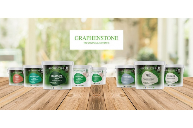 Graphenstone indoor and outdoor paint (only white color) and filler