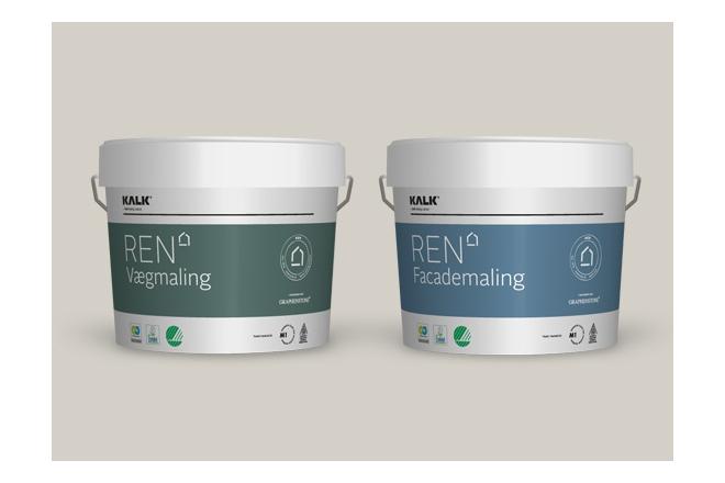 REN Vægmaling og REN Facademaling (REN Lime paint)