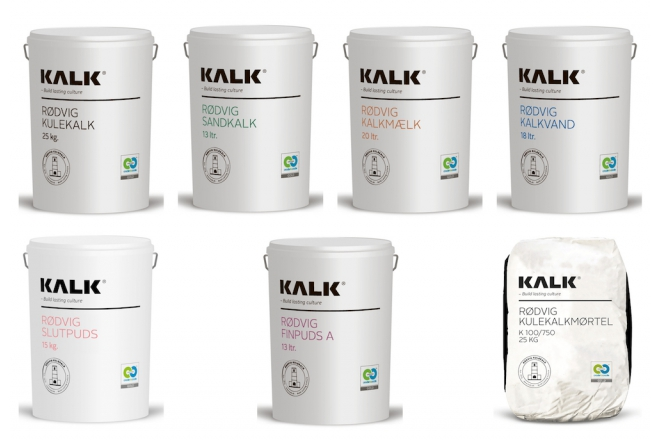 KALK Rødvig Kulekalk (KALK Rodvig Slaked Lime)