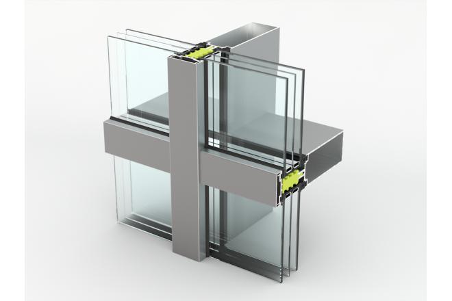 AA 100Q HI+ Aluminium Curtain Wall