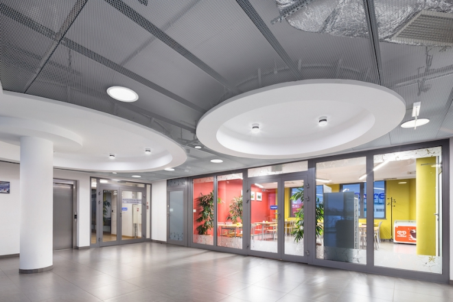 Armstrong Mesh Ceiling Systems