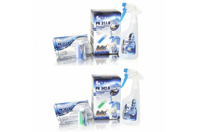 PK 311 B Super Glass, PK 342 B Oceanic H.S. Cleaner
