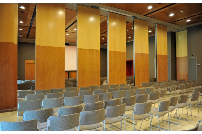 Movable and Folding Acoustic Walls