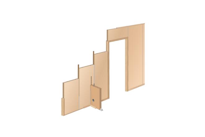 Flax board - Fibre Drywall