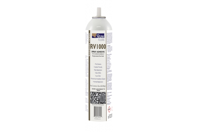 Shaw RV1000 Spray Adhesive