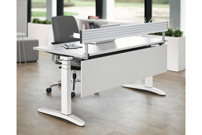 Steelcase has a new Cradle to Cradle certified product: Ology desk