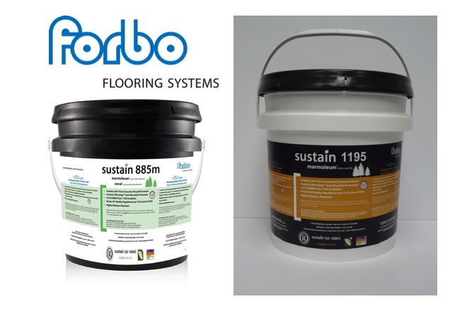 Forbo sustain 885m and Forbo sustain 1195