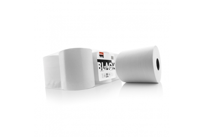 Satino Black Wiping Rolls