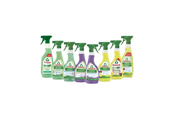 Frosch/Froggy/Rainett Lemon + Lavender Bathroom + Glass Cleaners