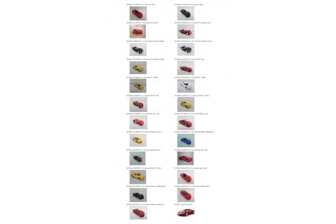 Collezione 1/43 Ferrari Race & Play