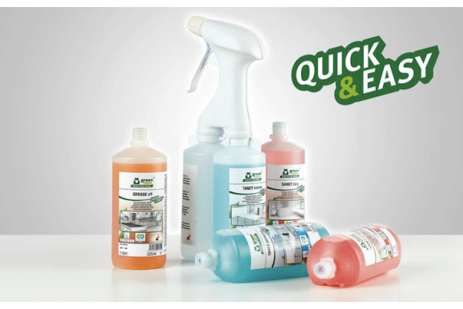 green care PROFESSIONAL Quick & Easy