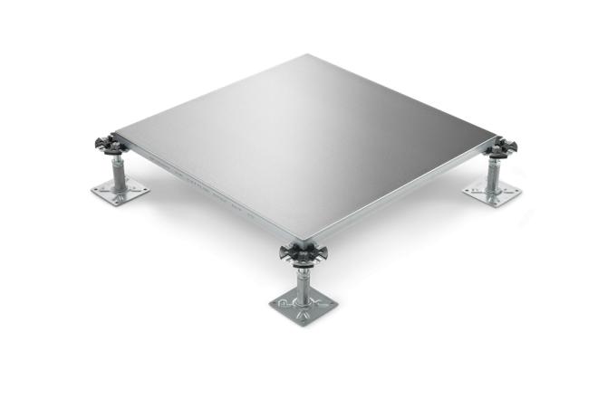 JVP 4x4 access floor fully steel encased chipboard panels