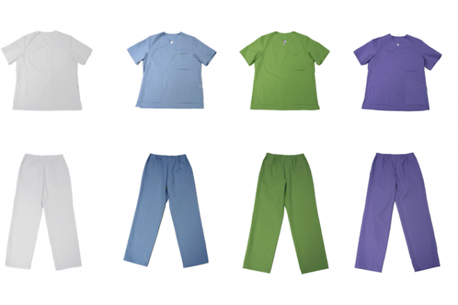 Workwear, apparel made from organic cotton and vinatur