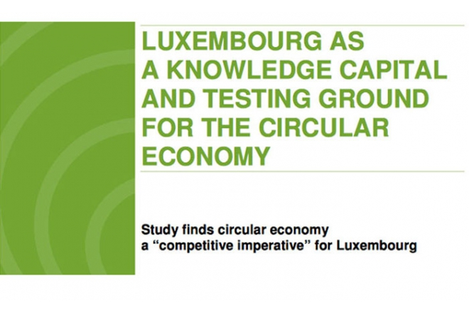 Study about Circular Economy in Luxembourg