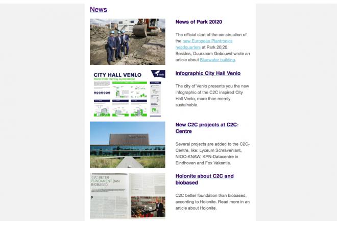 C2C-Centre Nederlandse nieuwsbrief juli