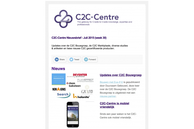 C2C Nieuwsbrief