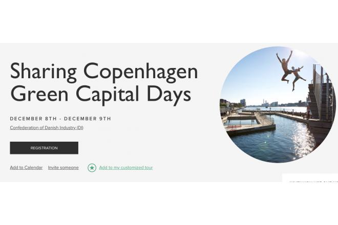 Sharing Copenhagen Green Capital Days Kopenhagen