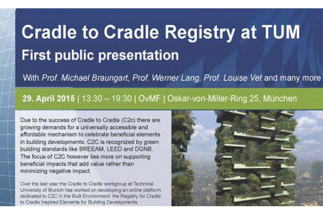 Launch registry Cradle to Cradle Inspired Elements for Building Developments