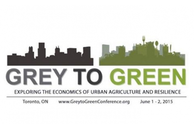 Roger Schickedantz keynote at Green conference June15 Toronto
