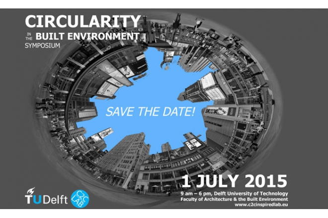 Save the date for circularity in the built environment symposium