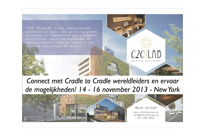 City of Venlo & C2C ExpoLAB will go to New York for Cradle to Cradle