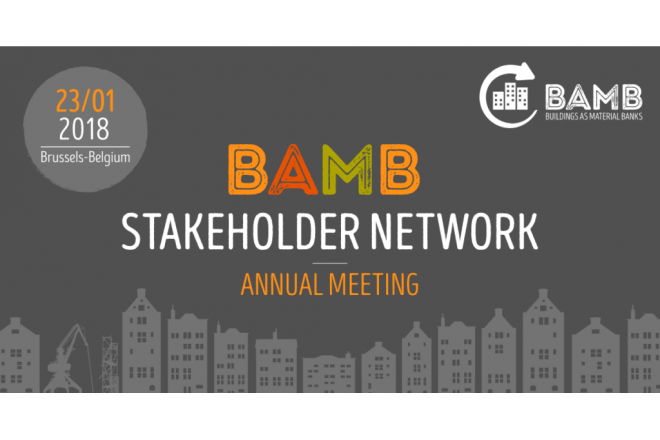 BAMB annual Stakeholder Network meeting - January 23