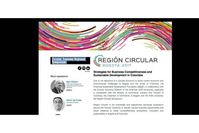 22 August - Bogota - Circular Economy Regional Symposium
