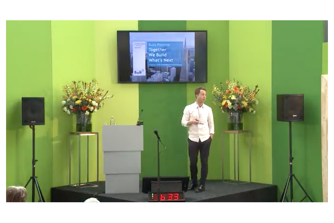 Watch the presentation of Built Positive - Thijs Maartens