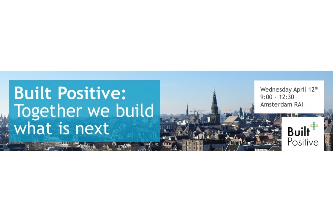 April 12th - Building Europe: Built Positive Event