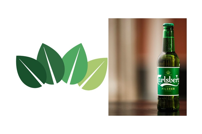 Carlsberg healthy printing inks for bottle labels launched globally