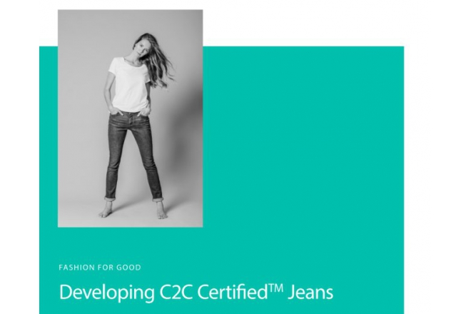 Learnings from developing the world's first C2C gold jeans